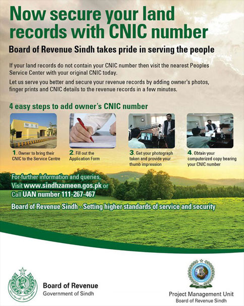 Secure Your Land With CNIC
